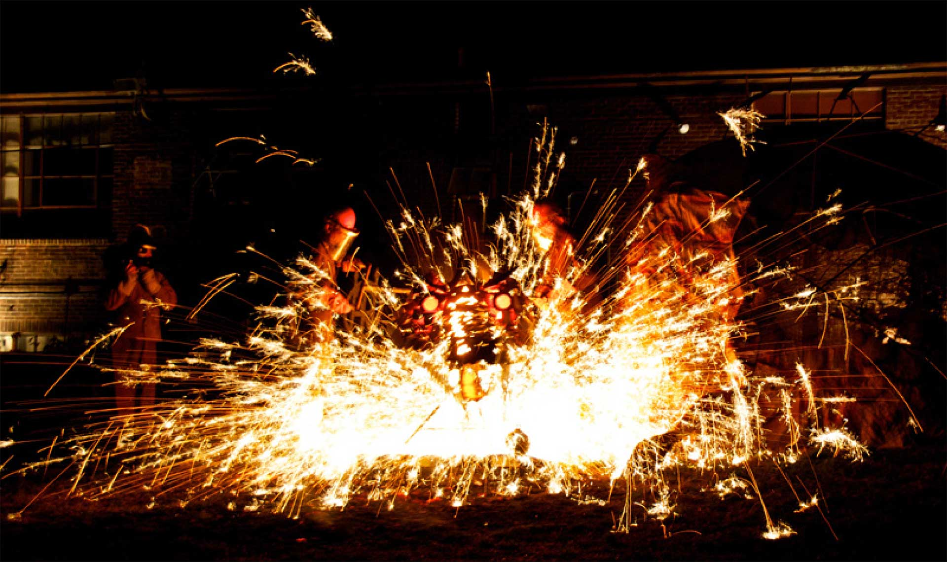 The Steel Yard Iron Pour